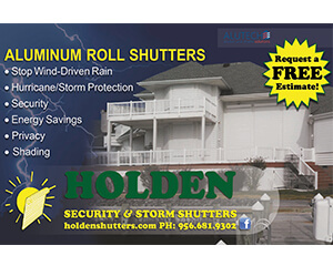 HOLDEN SECURITY & STORM SHUTTERS